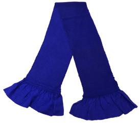 総絞り帯揚げ 青