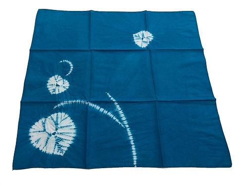 ハンカチ 傘巻き ブルー