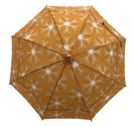 綿紅梅日傘 黄雪花