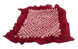 Bai shibori handkerchief Red