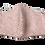 Thumbnail: シルク絞りマスク 鹿の子 とき色