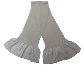 総絞り帯揚げ 白 礼装用