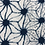 Thumbnail: メーター売り 綿 藍染 麻の葉柄