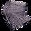 Thumbnail: nuishime shibori scarf purple