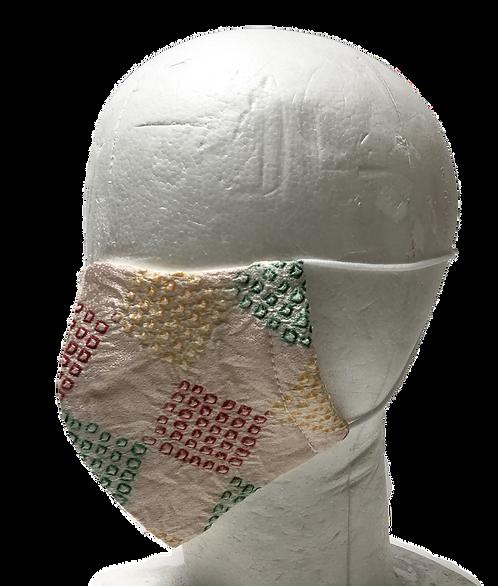 Silk mask irome kanoko