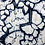 Thumbnail: Meter selling, shibori cotton fabric indigo dyeing butterfly