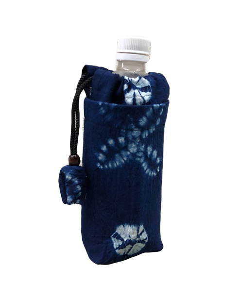 bottle holder indigo