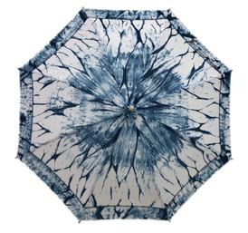 綿紅梅日傘 流