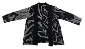 Kanoko black silk