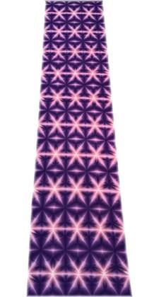 京萬華絞り 紫