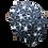 Thumbnail: sekka shibori, cotton parasol, gray