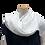 Thumbnail: White cotton shawl