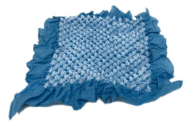 Bai shibori handkerchief Light Blue
