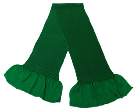 総絞り帯揚げ 緑