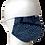 Thumbnail: 絞りマスク 藍染 鹿の子