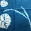 Thumbnail: ハンカチ 傘巻き ブルー