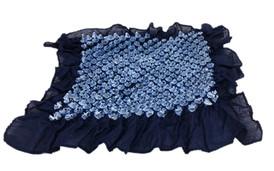 Bai shibori handkerchief Dark Blue