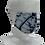 Thumbnail: shibori mask kasamaki shibori indigo