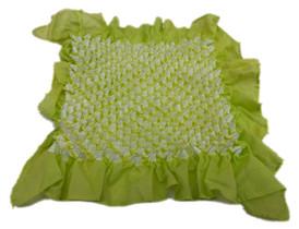 Bai shibori handkerchief Yellowish Green