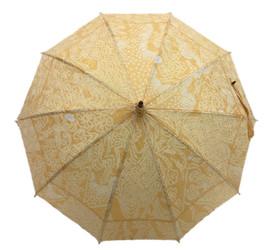 シルク日傘 ベージュ