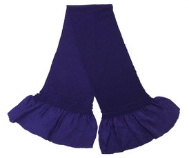 総絞り帯揚げ 紫