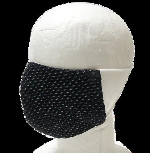 Silk mask Lame Kanoko