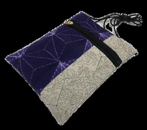 Eco bag asanoha purple