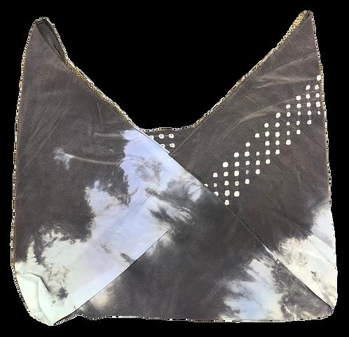 Shopping bag azuma style gray