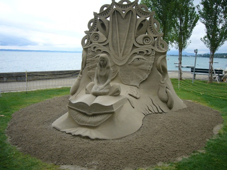 Sandskulpturen-Festival 15.8.2015