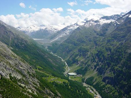 Höhenweg der Superlative Saas Almagell – Gspon