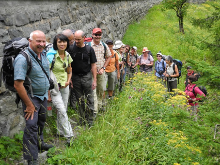 Wanderwochenende im Val Avers - 10. bis 11. August 2013