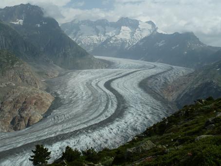 Zwei Tage im Banne des grossen Aletschgletschers, UNESCO Kulturerbe