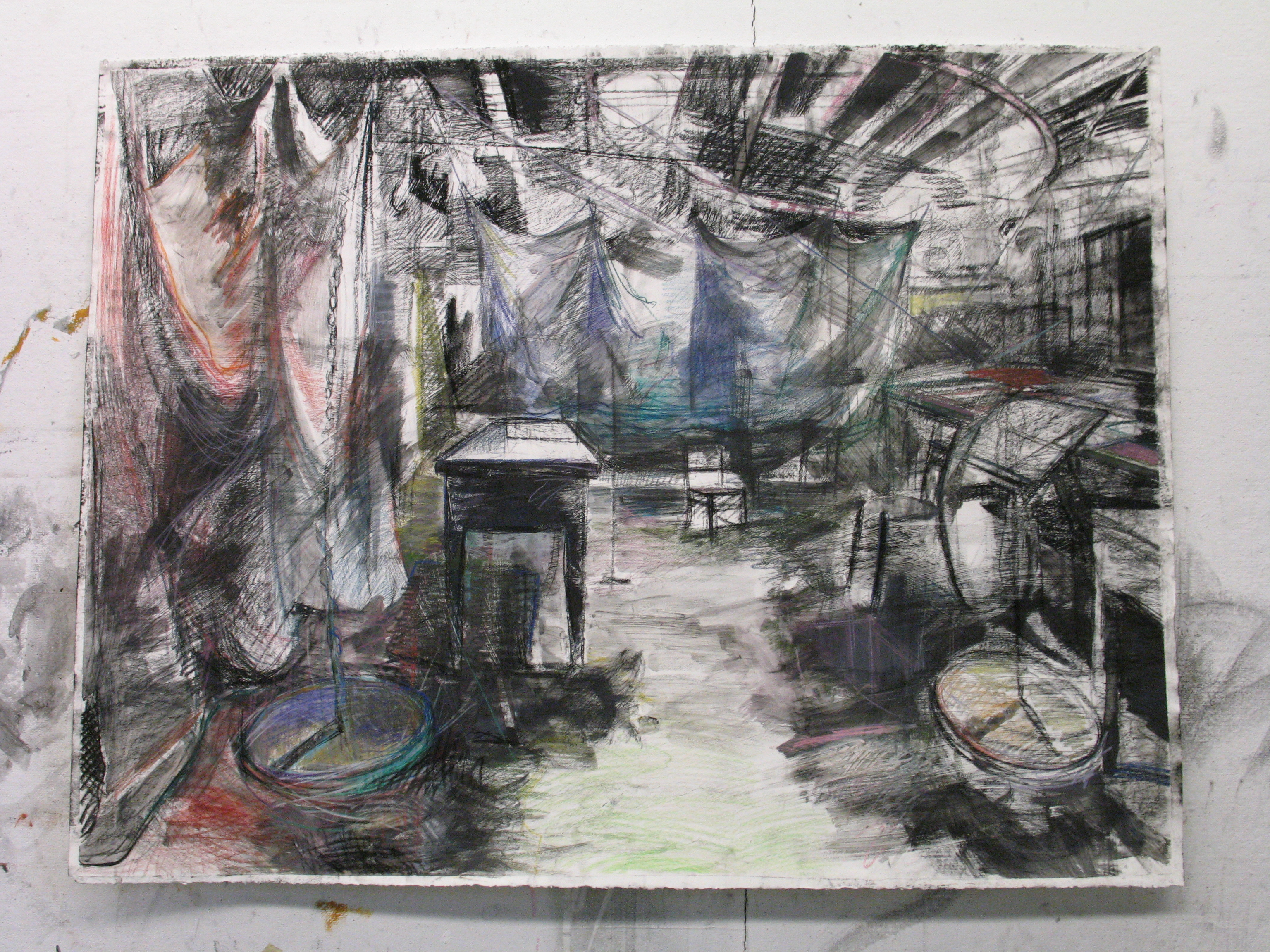 Inside Ann Hamilton's Studio, 2012