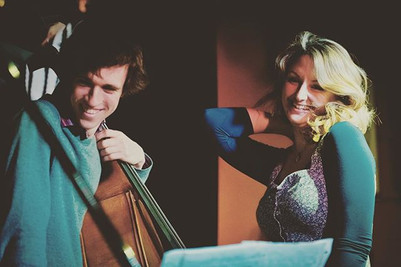 Me n my beautiful brother in music, Mish