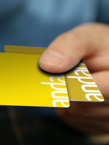 ANDANTE SUBWAY CARDS