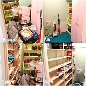 Store room declutter
