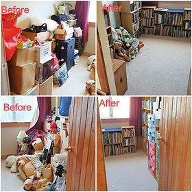 Spare room clear out and organise