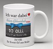 Tasse Roberts Glühweinbude mit DJ Olli -