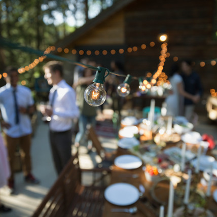 Food and Catering a Party or Wedding Basics