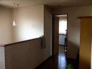 二階主寝室を望む
