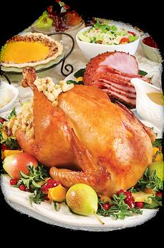 pnghut_thanksgiving-dinner-turkey-food-h