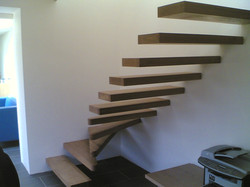 Floating Stair case