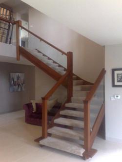 Iroko Staircase