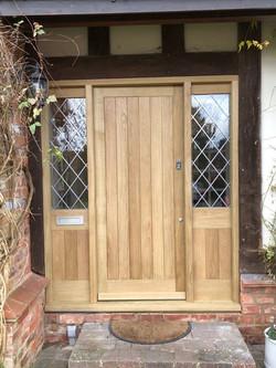 oak entrace screen