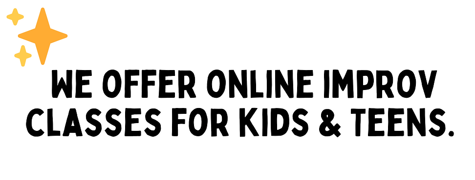 Online Improv Classes For Kids and Teens
