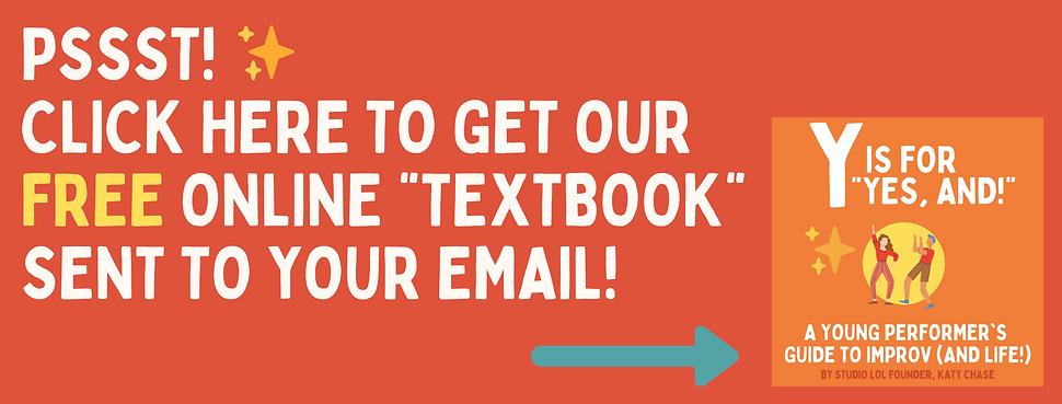 Online Improv Class for Kids - Textbook.