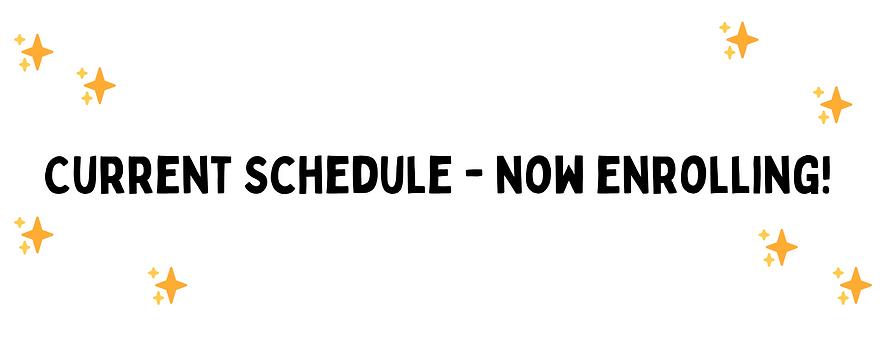 Current Schedule - Studio LOL