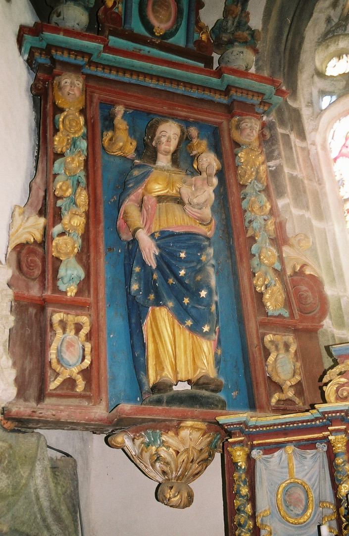 La Vierge avec l'enfant
