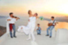 traditional musicians, santorini wedding music, santorini traditional music