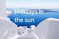Holidays in sun